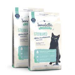 Sanabelle - Trockenfutter - Vorteilspaket Sterilized 2 x 2kg