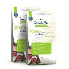 Sanabelle - Trockenfutter - Vorteilspaket No Grain 2 x 2kg