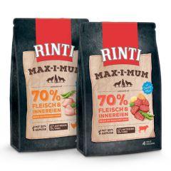 Rinti - Trockenfutter - Vorteilspaket Max-i-Mum 2 x 4kg