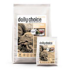 daily choice - Aktion: 1,5kg Trockenfutter Sensitiv geschenkt