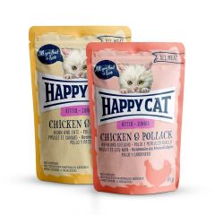 Happy Cat - Nassfutter - All Meat Junior Mixpaket Pouches