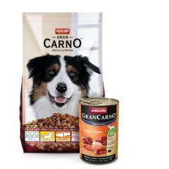 Animonda - GranCarno Vorteilspaket Trockenfutter 12,5kg + Nassfutter 6 x 400g