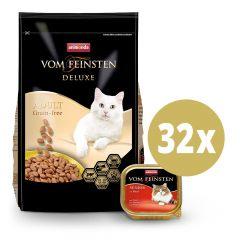 Animonda - Vorteilspaket Vom Feinsten Trockenfutter 10kg + Nassfutter 32 x 100g
