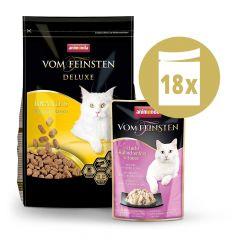 Animonda - Vorteilspaket Vom Feinsten Trockenfutter 1,75kg + Nassfutter 18 x 50g