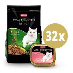 Animonda - Vorteilspaket Vom Feinsten Trockenfutter 1,75kg + Nassfutter 32 x 100g