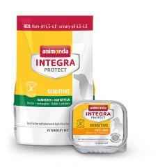 Animonda - Vorteilspaket Integra Protect Sensitive Trockenfutter 1,2kg + Nassfutter 16 x 100g