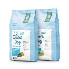 Green Petfood - Vorteilspaket InsectDog sensitive & InsectDog hypoallergen 2 x 10kg