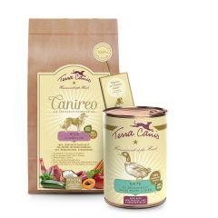 Terra Canis - Hundefutter - Aktion: Canireo 2,5kg + Ente mit Süßkartoffel (limitiert) 6 x 400g