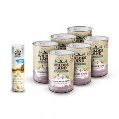 Wildes Land - Katzenfutter - Aktion: Wildes Land Freeze Dried Snack geschenkt