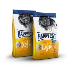 Happy Cat - Trockenfutter - Probe: 2 x 300g Happy Cat Supreme Light Trockenfutter