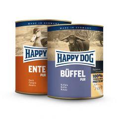 Happy Dog - Nassfutter - Vorteilspaket Single Protein 12 x 800g