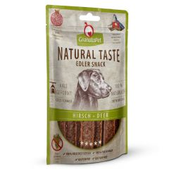 GranataPet - Snack - Natural Taste Dental Care Hirsch (getreidefrei)