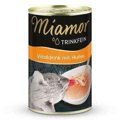 Miamor - Ergänzungsfutter - Trinkfein Vitaldrink mit Huhn Sixpack