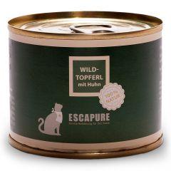 Escapure - Nassfutter - Wild Topferl mit Huhn (getreidefrei)