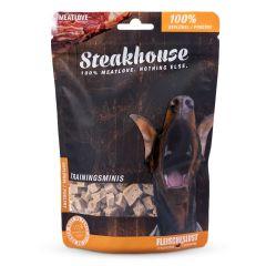 Fleischeslust - Hundesnack - Steakhouse Geflügel Minis luftgetrocknet (getreidefrei)
