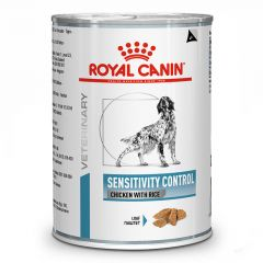 Royal Canin Veterinary Diet - Nassfutter - Sensitivity Control Chicken Canine