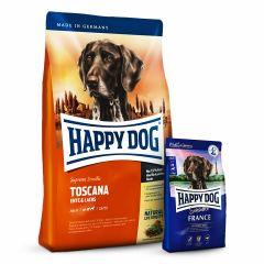 Happy Dog - Trockenfutter - Aktion: Supreme Sensible Trockenfutter + 1 kg France geschenkt