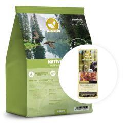 Natural - Trockenfutter - Aktion: Trockenfutter + 300g Hühnerbrusthappen geschenkt