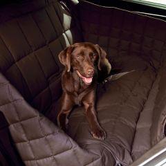 Doctor Bark - Hundedecke - 3-Sitz-Autodecke in Braun