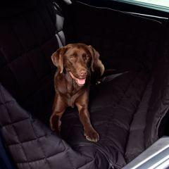 Doctor Bark - Hundedecke - 3-Sitz-Autodecke in Schwarz