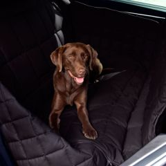 Doctor Bark - Hundedecke - 3-Sitz-Autodecke in Schwarz L