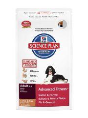 Hill's - Trockenfutter - Science Plan Canine Adult Advanced Fitness Lamm mit Reis