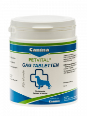 Canina - Ergänzungsfuttermittel - Petvital GAG Tabletten