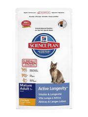 Hill's - Trockenfutter - Science Plan Feline Mature Adult 7+ Active Leongevity Huhn