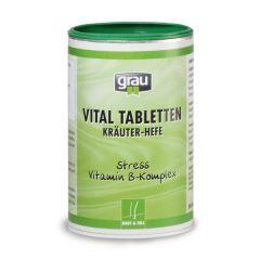 grau - Ergänzungsfutter - Vital Tabletten (Kräuter-Hefe)
