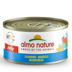 Almo Nature - Nassfutter - Jelly Makrele