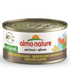 Almo Nature - Nassfutter - Natural Thunfisch mit Jungsardellen