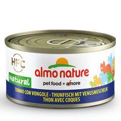 Almo Nature - Nassfutter - Natural Thunfisch mit Venusmuscheln