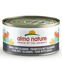 Almo Nature - Nassfutter - Jelly Thunfisch mit Calamaris