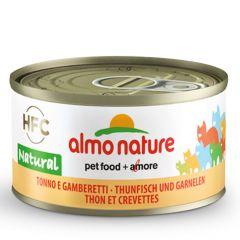 Almo Nature - Nassfutter - Legend Thunfisch und Garnelen