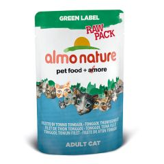 Almo Nature - Nassfutter - Green Label Raw Pack Tonggol Thunfischfilet