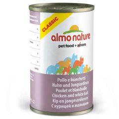 Almo Nature - Nassfutter - Classic Huhn und Jungsardellen