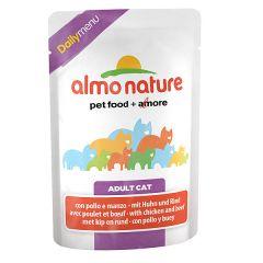 Almo Nature - Nassfutter - Daily Menu mit Huhn und Rind