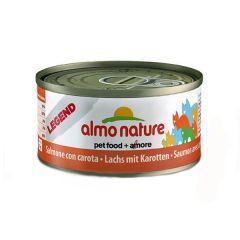 Almo Nature - Nassfutter - Jelly Lachs mit Karotten