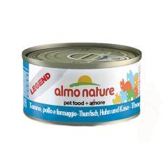 Almo Nature - Nassfutter - Legend Thunfisch, Huhn und Käse