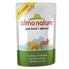 Almo Nature - Nassfutter - Classic in Jelly mit Thunfisch
