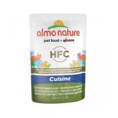 Almo Nature - Nassfutter - Rouge Label Thunfischfilet und Algen
