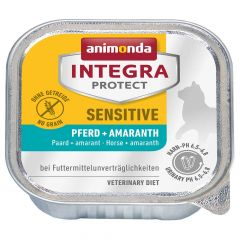 Animonda - Nassfutter - Integra Protect Adult Sensitive Pferd + Amaranth (getreidefrei)