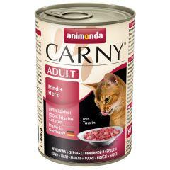 Animonda - Nassfutter - Carny Adult Rind + Herz (getreidefrei)