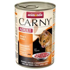 Animonda - Nassfutter - Carny Adult Rind + Huhn (getreidefrei)