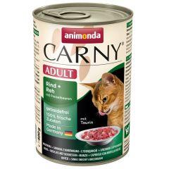 Animonda - Nassfutter - Carny Adult Rind, Reh + Preiselbeeren (getreidefrei)