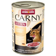 Animonda - Nassfutter - Carny Kitten Geflügelcocktail (getreidefrei)