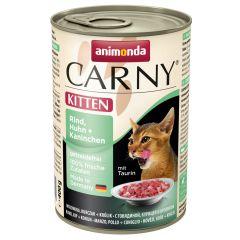 Animonda - Nassfutter - Carny Kitten Rind, Huhn + Kaninchen (getreidefrei)