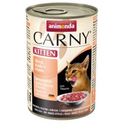 Animonda - Nassfutter - Carny Kitten Rind, Kalb + Huhn (getreidefrei)