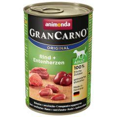 Animonda - Nassfutter - GranCarno Adult Rind + Entenherzen (getreidefrei)
