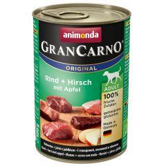 Animonda - Nassfutter - GranCarno Adult Rind + Hirsch mit Apfel (getreidefrei)